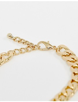 Reclaimed Vintage Inspired Gold Plated Chain Necklace by Reclaimed Vintage