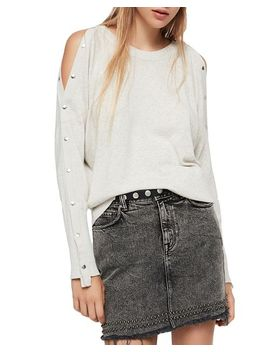 Suzie Snap Sleeve Sweater by Allsaints