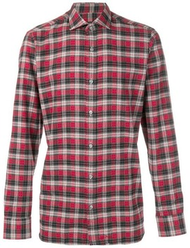 Diego Gingham Buttoned Shirt by Z Zegna
