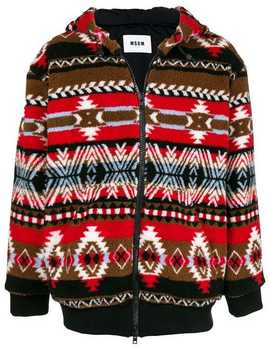 Jacke Mit Muster by Msgm