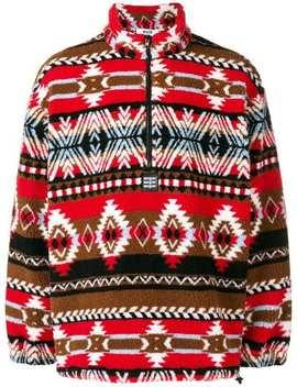 Pullover Mit Ethno Print by Msgm