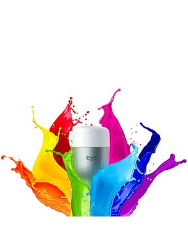 In Stock Original Xiao Mi Colorful App Wifi Remote Control Smart Led Light Rgb / Colorful Temperature Romantic Lamp Bulb Yeelight by Xiaomi