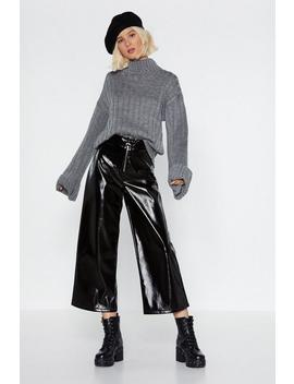 You're Getting Warmer Ribbed Sweater by Nasty Gal