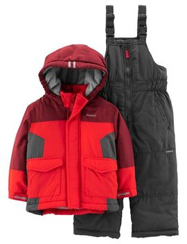 2 Piece Colorblock Snowsuit Set by Oshkosh