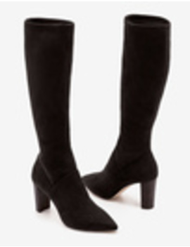 Pointed Stretch Boots by Boden