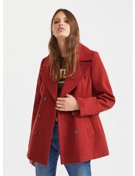 Tan Military Coat by Miss Selfridge