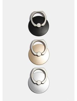 Round Cell Phone Ring Mount & Hook by Miss A