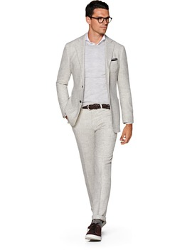 Havana Grey Houndstooth Suit by Suitsupply