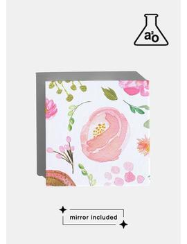 A2o Lab Empty Magnetic Palette   Small Watercolor Floral by A2o Lab