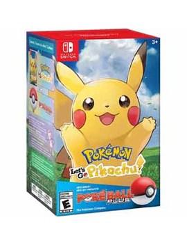 Nintendo Switch   Pokémon: LetS Go, Pikachu! + Poké Ball Plus Pack by Nintendo