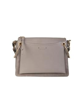 Medium Roy Shoulder Bag   Motty Gray by Chloe