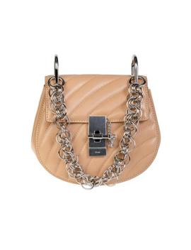 Drew Bijou Nano Shoulder Bag   Blush Pink by Chloe