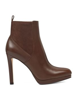 Quillin Platform Booties by Nine West