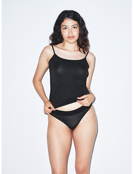 Mix Modal Thong by American Apparel
