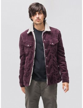 Lenny Wide Cord Plum by Nudie Jeans