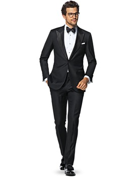 Lazio Black Tuxedo Suit by Suitsupply