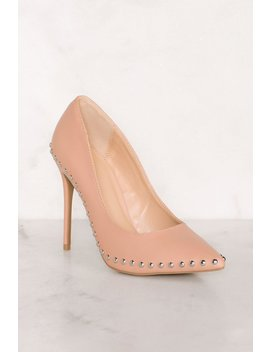 Clarisse Studded Heels by Priceless