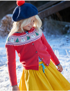Festive Fun Cardigan by Boden