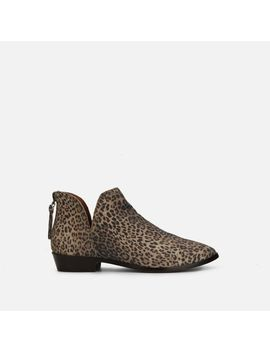 Loop There It Is Leopard Print Ankle Boot by Reaction Kenneth Cole