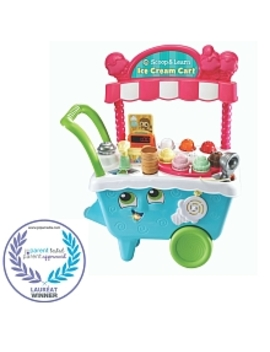 Leap Frog Scoop & Learn Ice Cream Cart   English Edition by Toys Rus