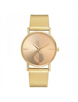 Xr2924 Ladies Simple Casual Mesh Alloy Watch by Twinkle Deals