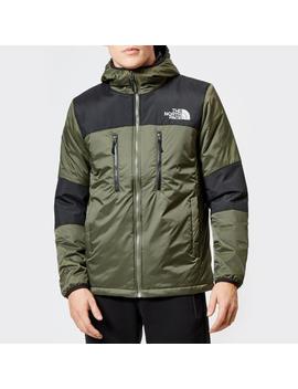 The North Face Men's Himalayan Light Synthetic Hoodie   New Taupe Green/Tnf Black by The Hut