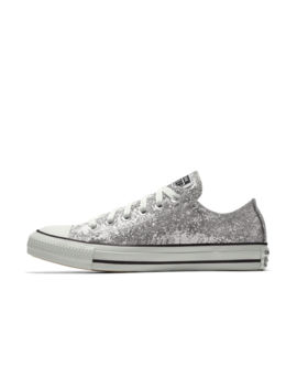 Converse Custom Chuck Taylor All Star Glitter Low Top by Nike