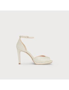 Yasmin Platinum Sandals by L.K.Bennett