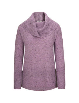 Speckled Cowl Neck Sweater by Ricki's