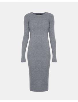 Mixed Rib Maxi Dress by Theory