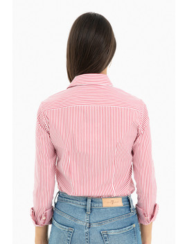 Striped Essential Icon Shirt by The Shirt By Rochelle Behrens