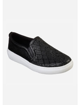Skechers Diamond Darling Slip On   Medium Width by Ashley Stewart