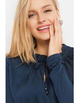 Bluză Dreaptă Cu Panglică by Orsay