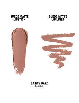 """Suede Matte Lip Kit   Dainty Daze              <Span Class=""""Product.Sample.Minicart.Class.Variationdetails""""></Span> by Nyx Cosmetics"""