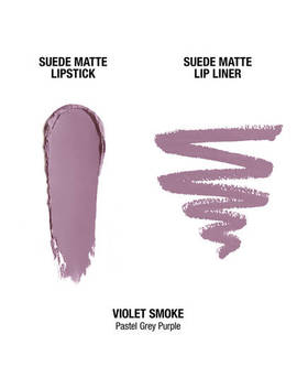 """Suede Matte Lip Kit   Violet Smoke              <Span Class=""""Product.Sample.Minicart.Class.Variationdetails""""></Span> by Nyx Cosmetics"""