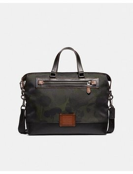 Academy Holdall With Wild Beast Print by Coach