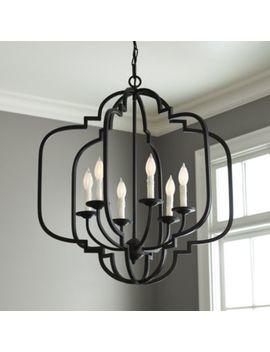 Katherine 6 Light Geometric Chandelier by Ballard Designs