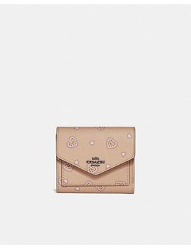 Small Wallet With Western Heart Print by Coach