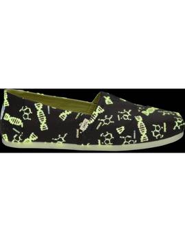 Glow In The Dark Black Dna Men's Classics by Toms