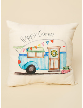 Happy Camper Pillow by Altar'd State
