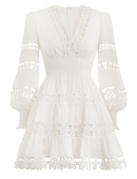 Primrose Daisy Short Dress by Zimmermann