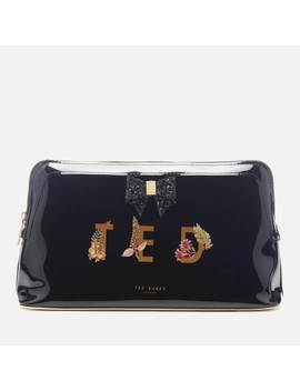 Ted Baker Women's Keeley Pirouette Ted Washbag   Black by The Hut