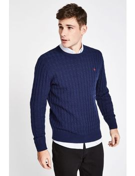 Marlow Cable Crew by Jack Wills