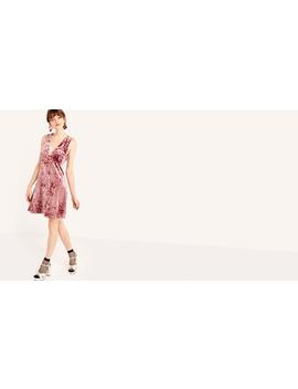 Velvet Mauve Mini Shift Dress by Nobody's Child