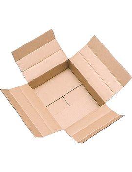 "18"" X 18"" X 6"" Multi Depth Shipping Boxes, Brown, 20/Bundle (63 181806) by Staples"