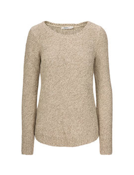 Round Neck Pullover Sweater by Ricki's