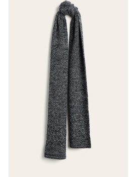 Ribbed Scarf by Frye