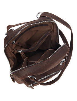 Full Grain Cowhide Leather Backpack Small Size by Vagabond Traveler