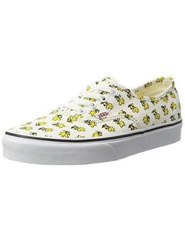 Vans Womens Peanuts Authentic Trainers, Yellow (Woodstock/Bone (Peanuts)), 5.5 U by Vans