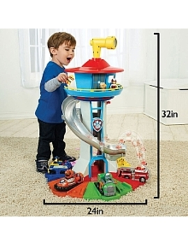 Paw Patrol  My Size Lookout Tower With Exclusive Vehicle, Rotating Periscope And Lights And Sounds by Toys Rus